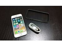 IPHONE 5S 16GB WHITE UNLOCKED TO ALL NETWORKS MINT CONDITION