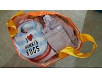 Large bundle of baby girls clothes aged 6-9 months