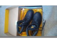 CATERPILLAR Steel Toe Capped Black Boots - Brand New in Box - Size 8