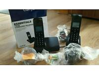 Essential twin cordless phone