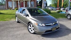 2008 Honda Civic Ex-l-$56W- Leather- Sunroof- Cd with Aux input London Ontario image 3