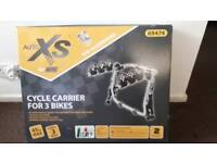 Cycle carrier for 3 bikes