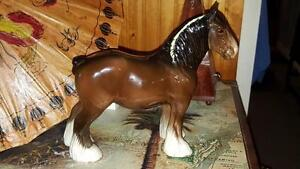 Beswick Horse - Brown Shire Mare