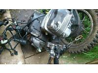 Honda 125cc complete engine