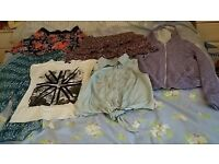 Size 10/12 clothes bundle