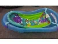 Fisher Price Blue Whale Ocean Aquarium Infant-Toddler Tub