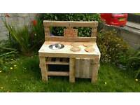 Mistersketchmakes mud kitchens