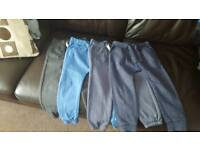 Joggers and convers hoody jacket and jumper 3 4 yrs