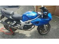 Suzuki Sv650 SK1 - can restrict for A1 if required