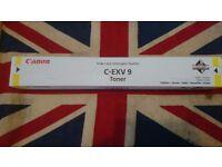 Genuine Canon C-EXV 9 Yellow Toner 8643A002[AA]