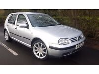 Volkswagen Golf 2.0 litre Gti Alloys with good tyres