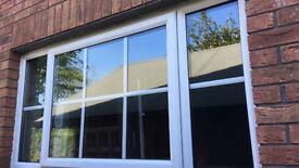 White PVC windows