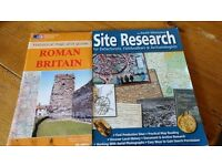Metal Detecting Book - Site Research + Map of Roman Britain both in as new condition