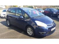 2008 / 08 Plate Citroen C4 PICASSO 2.0 HDi 7 EXCLUSIVE 5dr 7 SEATER