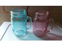 Kilner mason jars mugs with handle