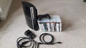 AMAZING 500gb Black PlayStation3 Bundle with 39 Sweet Games (photos to follow)