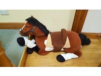Giant Cuddly Toy Horse