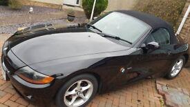 BMW Z4 2.2i Black Sapphire 88k Low Milage Car