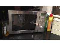 Stainless steel combi microwave/oven/grill (spares or repair)
