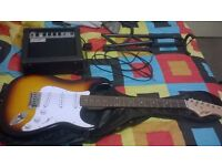 Guitar w/ 15 watt amp. OTHER ACCESSORIES SOLD SEPARATELY