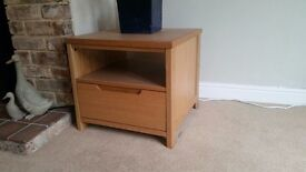 2 x nest tables or bedside tables great condition £30 the pair collection only from blandford dorset
