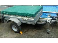 Noval portaflot Trailer*600kgs*5x3.6ft*Galvanized construction*