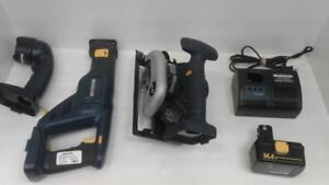 MasterCraft  Circular Saw & Sawzall Combo Kit. We Sell Used Tools. (#52168) SR95479