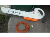 Stihl es 40 leaf blower and hoover