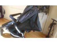 Mountain Buggy Duet Double Buggy & Raincover