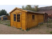 Log Cabin / Summer house 3x3m ( 10ft) 48mm thick walls, For sale