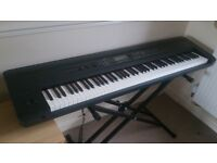 KORG Kross 88 Music Workstation Keyboard. 88 note weighted action + Stand