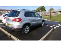 Vw tiguan 2.0 tdi 140 4 motion, (59)2009, F.S.H, New clutch kit and flywheel, cambelt replaced.