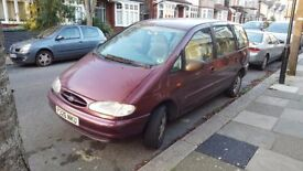 Ford Galaxy MPV '97, MOT until August, full service history