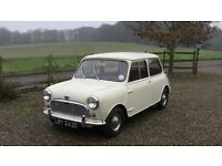 Austin Mini Super Delux Hydrolastic SuspensionMK1