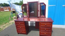 chest drawers, dressing table, for sale, DOWNSIZING, no room for them can see anytime
