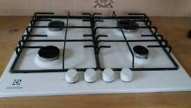 WHITE GAS HOB