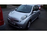 2008 58 reg NISSAN MICRA ACENTA 1.2 5DR 54k MILES 10 MTHS MOT B/TOOTH REDUCED TO SELL £2000