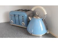Kitchen kettle & double toaster set by Morphy Richards. Immaculate.
