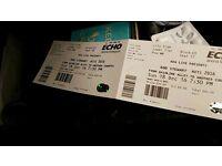 2 x tickets ROD STEWART liverpool