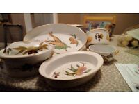 5 x Royal Worcester oven to tableware dishes