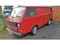 vw t25 with audi engine