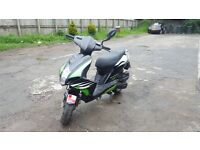 125 scooter 62 plate with mot for sale