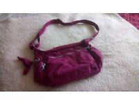 Kipling bags (6) + purse