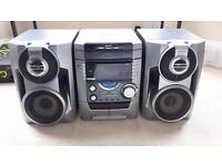 Sony Hi-Fi Stereo - 3-Piece Stereo, 200 Watts, 3 CD Changer, Aux Input