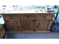 Sideboard and storage chest