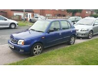 NISSAN MICRA 1 LITRE PETROL MANUAL 5 DOOR HATCHBACK MOTED CHEAP RUNABOUT £350 ONO OPEN TO OFFERS