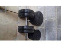 Dumbbells - Hardcastle Free Weights - 50KG total weights