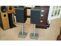 Coda 8 Speakers with stands