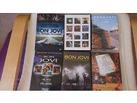 7 Bon Jovi CD'S and 6 Bon Jovi Concert DVD'S - From £2.00