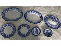Malvern Blue and white old china